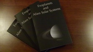 exoplanets books displayed paperback edition